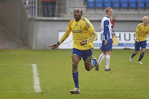 Ousman Jallow, m�lscorer (Br�ndby IF)