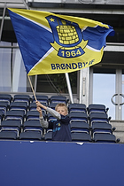 Br�ndbyfan med flag