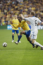 Ousman Jallow (Br�ndby IF), Ulrik Laursen (FC K�benhavn)