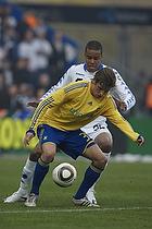 Mathias Zanka J�rgensen (FC K�benhavn), Jens Larsen (Br�ndby IF)