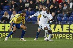 Atiba Hutchinson (FC K�benhavn), Mikkel Bischoff (Br�ndby IF)