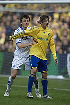Jens Larsen (Br�ndby IF), William Kvist (FC K�benhavn)