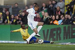 Ousman Jallow (Br�ndby IF), Mathias Zanka J�rgensen (FC K�benhavn)