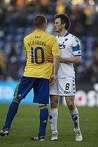Martin Bernburg (Br�ndby IF), William Kvist, anf�rer (FC K�benhavn)