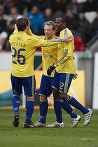Mike Jensen (Br�ndby IF), Michael Krohn-Dehli, anf�rer (Br�ndby IF), Ousman Jallow (Br�ndby IF)