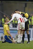 Martin Bernburg (Br�ndby IF), Kjetil W�hler (Aab), Karim Zaza (Aab)