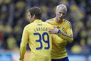 Jens Larsen (Br�ndby IF), Alexander Farnerud (Br�ndby IF)