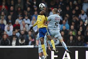 Ousman Jallow (Br�ndby IF), Anders Egholm (Randers FC)