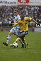 Ousman Jallow (Br�ndby IF), Kasper Lorentzen (Randers FC)