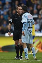 Claus Bo Larsen, dommer, Mikkel Beckmann (Randers FC)
