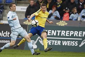 Jan Kristiansen (Br�ndby IF), Kasper Lorentzen (Randers FC)