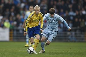 Alexander Farnerud (Br�ndby IF), Morten Karlsen (Randers FC)