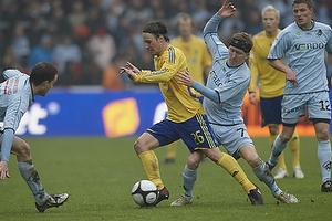 Mike Jensen (Br�ndby IF), Morten Karlsen (Randers FC)