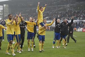 Jens Larsen (Br�ndby IF), Daniel Wass (Br�ndby IF), Michael Krohn-Dehli (Br�ndby IF), Jon J�nsson (Br�ndby IF), Samuel Holm�n (Br�ndby IF)