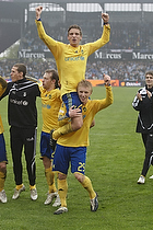 Jens Larsen (Br�ndby IF), Daniel Wass (Br�ndby IF)