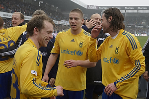 Peter Madsen (Br�ndby IF), Martin Bernburg (Br�ndby IF), Michael Krohn-Dehli, anf�rer (Br�ndby IF)