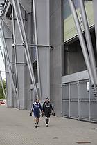Kim Daugaard, assistenttr�ner (Br�ndby IF), Martin Bernburg (Br�ndby IF)