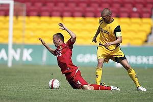 Andreas Granskov (FC Nordsj�lland), Niels Lodberg (AC Horsens)