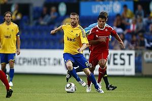 Mikael Nilsson (Br�ndby IF), Diego Ciccone (FC Vaduz)