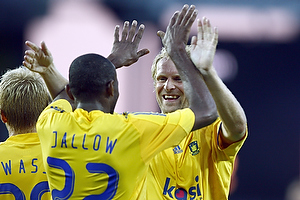 Remco van der Schaaf (Br�ndby IF), Ousman Jallow (Br�ndby IF)