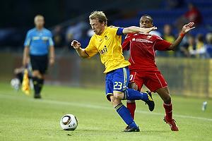 Michael Krohn-Dehli (Br�ndby IF), Diego Ciccone (FC Vaduz)