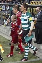 Nicolai Stokholm, anf�rer (FC Nordsj�lland), Daniel Carrico, anf�rer (Sporting Lissabon)
