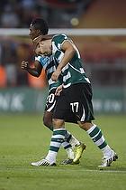 Yannick Djalo (Sporting Lissabon), Simon Vukcevic (Sporting Lissabon)