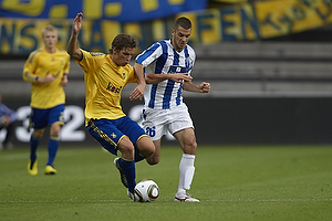 Jens Larsen (Br�ndby IF), Radivoje Golubovic (FK Buducnost Podgorica)