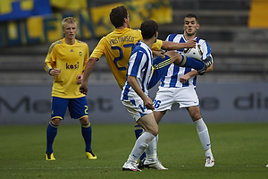 Jan Kristiansen (Br�ndby IF), Radivoje Golubovic (FK Buducnost Podgorica)