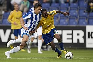 Ousman Jallow (Br�ndby IF), Slobodan Mazic (FK Buducnost Podgorica)