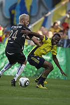 Ousman Jallow (Br�ndby IF), Nicolai H�gh (Esbjerg fB)