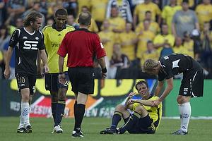 Thomas Rasmussen (Br�ndby IF), Mikkel Bischoff (Br�ndby IF), Tim Janssen (Esbjerg fB)