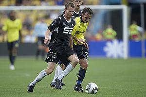 Mike Jensen (Br�ndby IF), Jesper J�rgensen (Esbjerg fB)