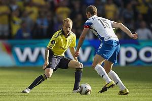 Alexander Farnerud (Br�ndby IF), Chris S�rensen, anf�rer (Ob)