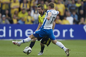 Mikael Nilsson (Br�ndby IF), Johan Absalonsen (Ob)