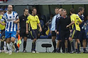 Henrik Jensen, cheftr�ner (Br�ndby IF), Jan Kristiansen (Br�ndby IF), Thomas Rasmussen (Br�ndby IF)