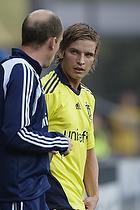 Jens Larsen (Br�ndby IF), Kim Daugaard, assistenttr�ner (Br�ndby IF)