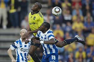 Ousman Jallow (Br�ndby IF), Eric Djemba-Djemba (Ob)