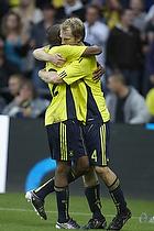 Remco van der Schaaf, m�lscorer (Br�ndby IF), Ousman Jallow (Br�ndby IF)