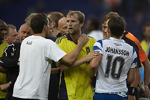 Remco van der Schaaf (Br�ndby IF), Andreas Johansson (Ob)