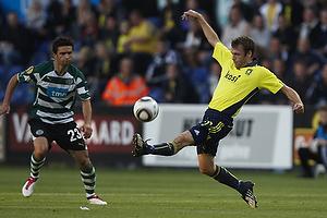 Thomas Rasmussen (Br�ndby IF), Helder Postiga (Sporting Lissabon)