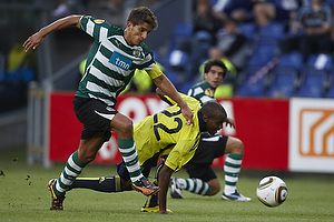 Ousman Jallow (Br�ndby IF), Daniel Carrico (Sporting Lissabon)