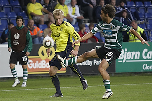 Daniel Wass (Br�ndby IF), Andre Santos (Sporting Lissabon)
