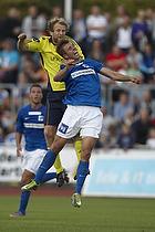 Remco van der Schaaf (Br�ndby IF), Patrick Mortensen (Lyngby BK)