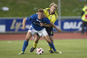 Patrick Mortensen (Lyngby BK), Remco van der Schaaf (Br�ndby IF)