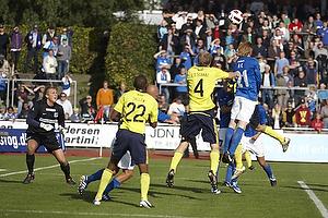 Remco van der Schaaf (Br�ndby IF), Anders Christiansen (Lyngby BK)