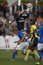 Ousman Jallow (Br�ndby IF), Morten Petersen (Lyngby BK)