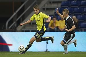 Nicolaj Agger (Br�ndby IF), Andrei Sidorenkov (S�nderjyske)