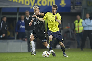 Mikael Nilsson (Br�ndby IF), Andrei Sidorenkov (S�nderjyske)