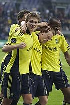 Michael Krohn-Dehli, m�lscorer (Br�ndby IF), Nicolaj Agger (Br�ndby IF), Ousman Jallow (Br�ndby IF)